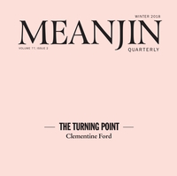 """Meanjin """"#MeToo"""" Winter Edition – The Turning Point"""