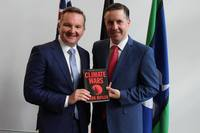 Chris Bowen launches Mark Butler's new book Climate Wars