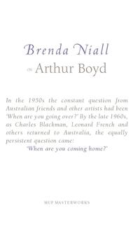 On Arthur Boyd