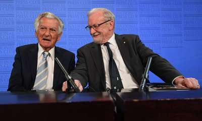 National Press Club Address: Bob Hawke launches Gareth Evans's 'Incorrigible Optimist'